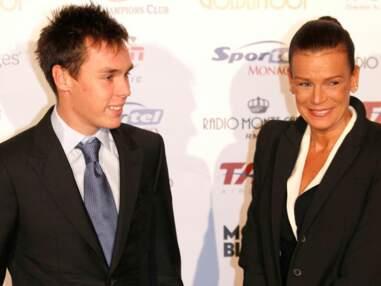 Stéphanie de Monaco présente son fils Louis