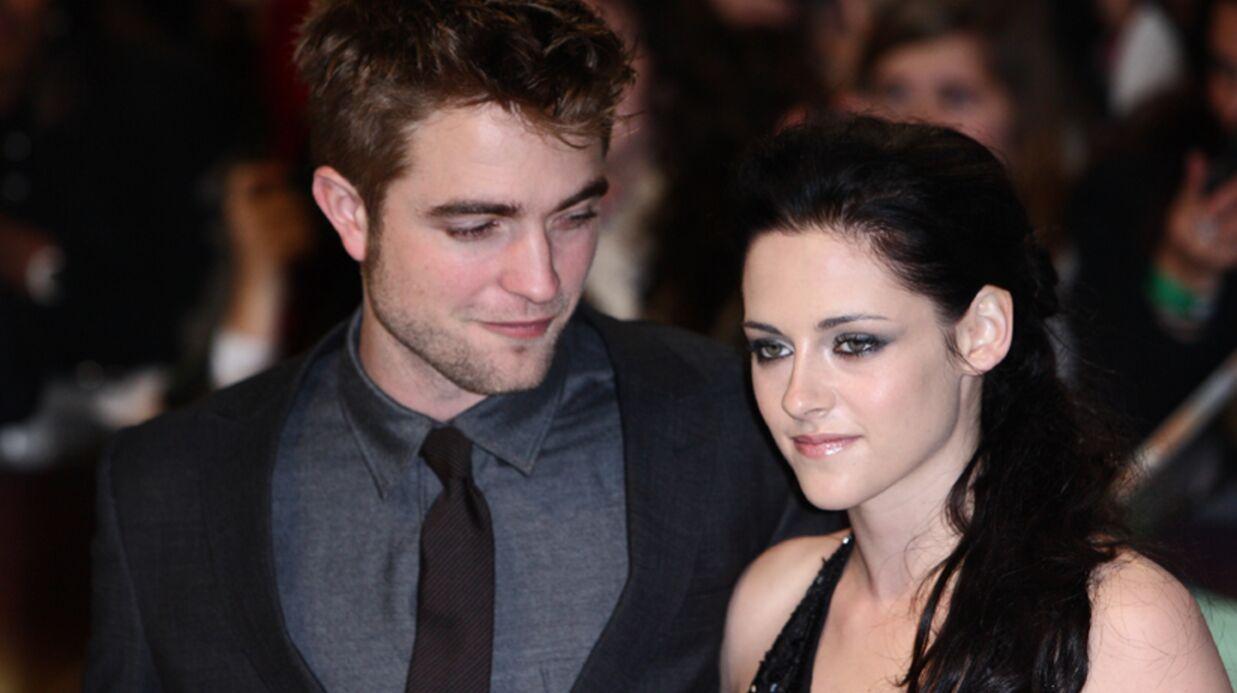 Robert Pattinson et Kristen Stewart surpris en train de s'embrasser