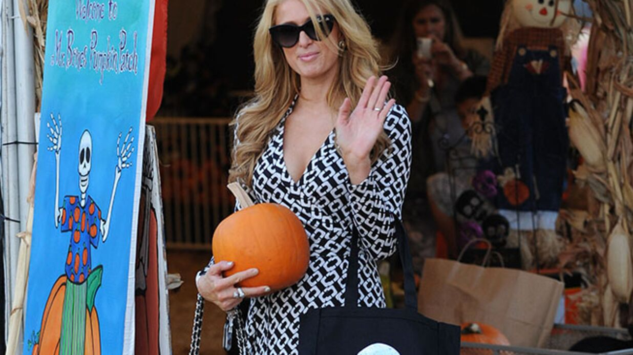 DIAPO Le shopping d'Halloween de Paris Hilton