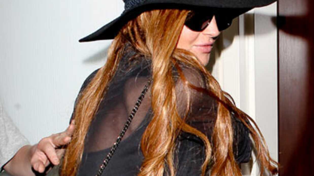 Lindsay Lohan arrêtée après un accident de voiture