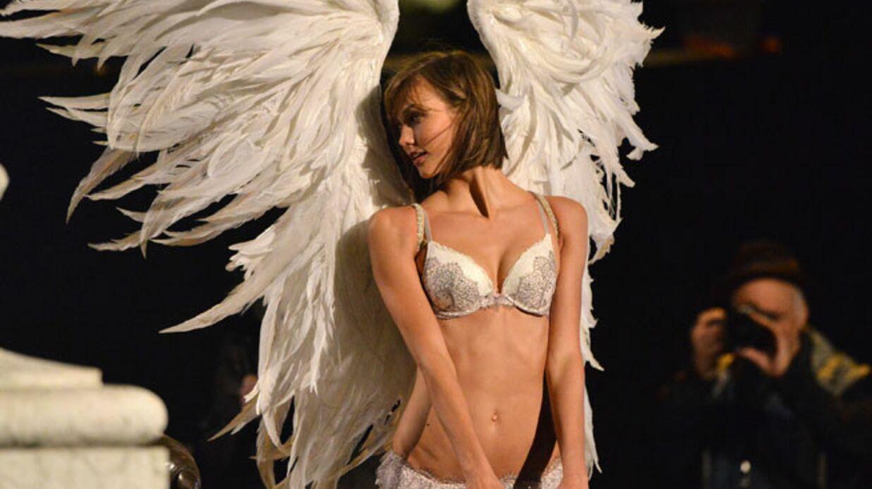 DIAPO Les anges de Victoria's Secret s'offrent Paris le temps d'un shooting sexy