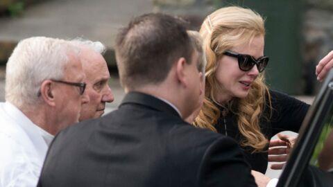 Nicole Kidman s'effondre aux obsèques de son père