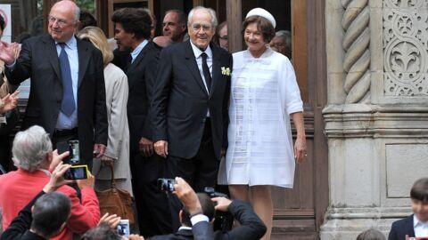 PHOTOS Macha Méril et Michel Legrand bien entourés pour leur mariage à l'église