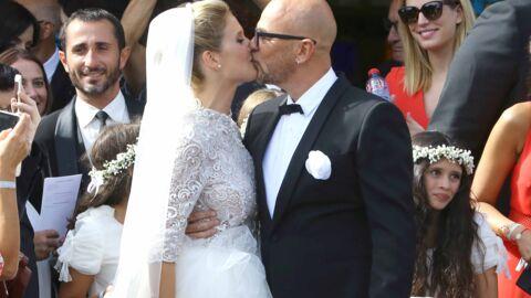 PHOTOS Pascal Obispo a épousé Julie Hantson sous le soleil