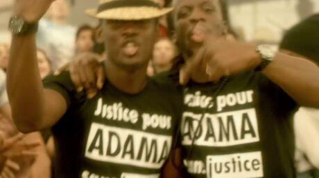 Black M: le message de son t-shirt flouté par W9 crée la polémique