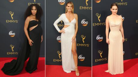 PHOTOS Emmy Awards 2016 : Kerry Washington enceinte, Heidi Klum sexy, Emilia Clarke très élégante