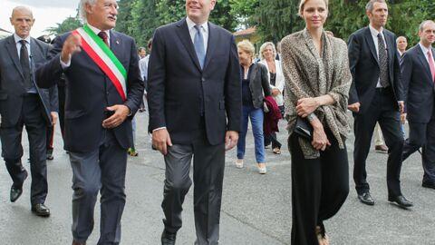 DIAPO Charlène de Monaco aux premières loges d'une cérémonie pour son mari