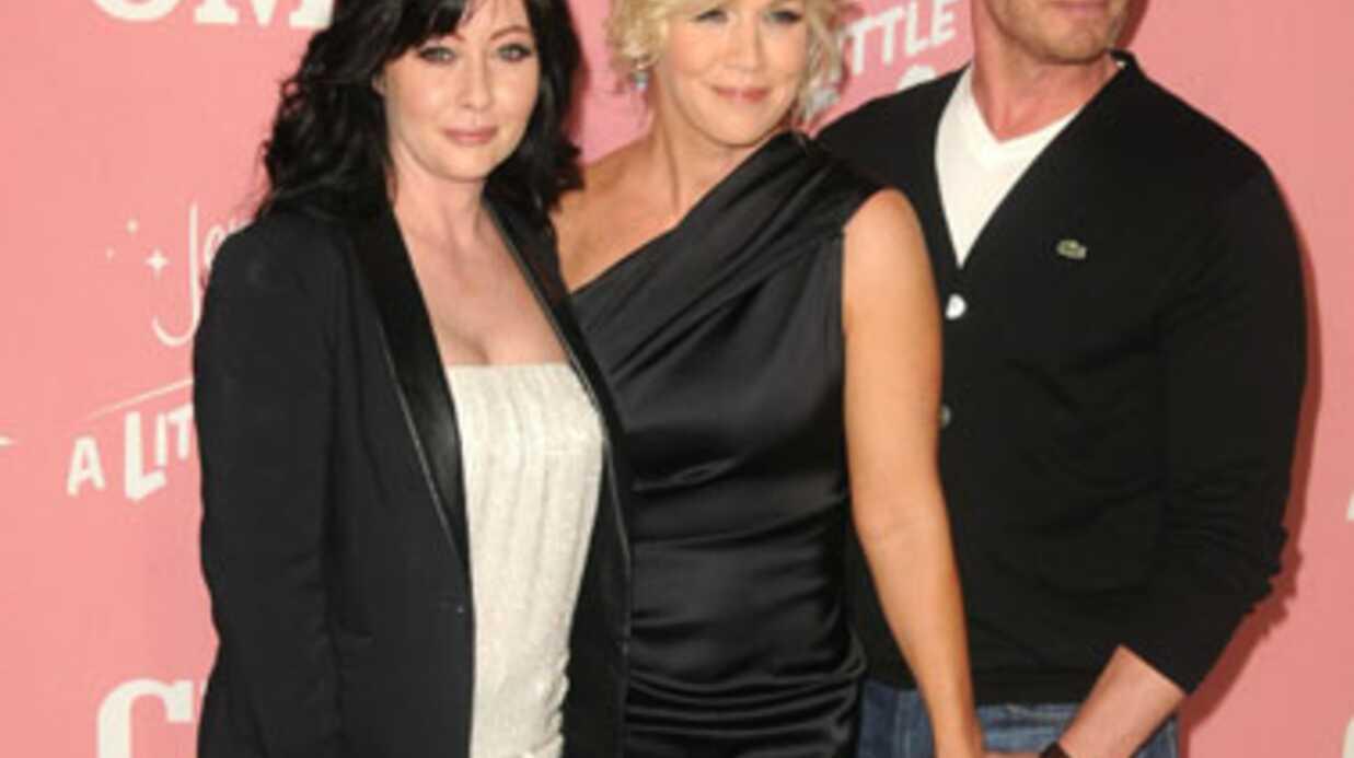 PHOTOS Jennie Garth retrouve ses copains de Beverly Hills