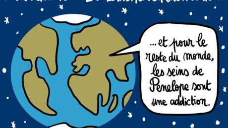 Louison a croqué: l'étrange addiction de Pénélope Cruz