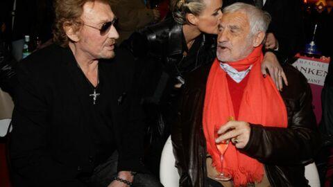 PHOTOS Jean-Paul Belmondo et les Hallyday s'éclatent à la fête foraine