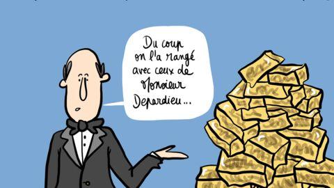 Louison a croqué: ivre, Nathalie Baye oublie son César au Fouquet's
