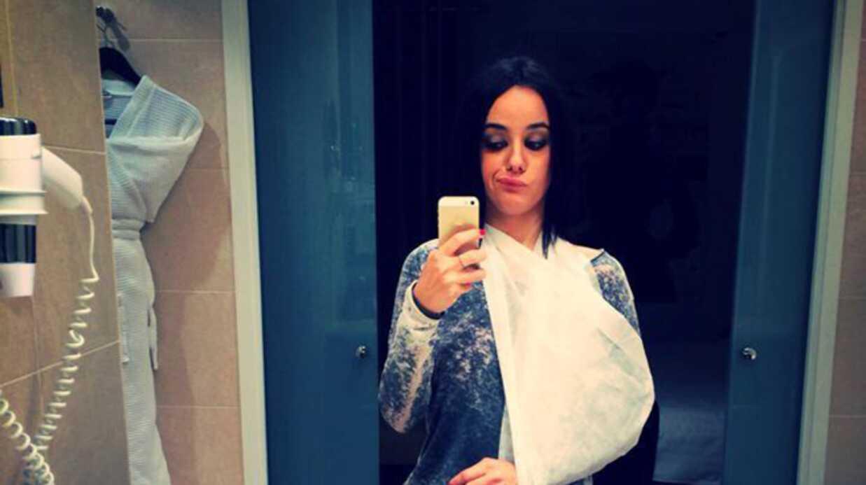 PHOTO Alizée s'est blessée sur la tournée Danse avec les stars