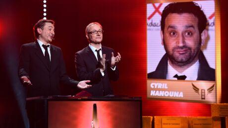 Gérard de la télévision 2015: Cyril Hanouna remporte trois prix