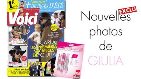 Nouvelles photos de Giulia Sarkozy dans Voici