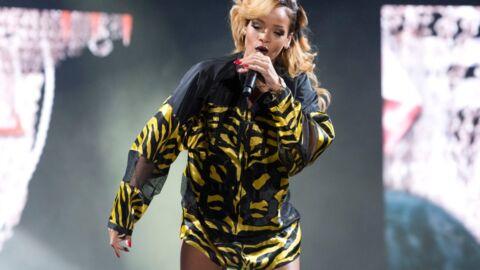 Bombardée de chips par des fans, Rihanna se fâche