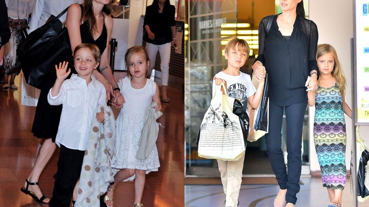 PHOTOS Angelina Jolie: ses jumeaux Vivienne et Knox ont bien changé!