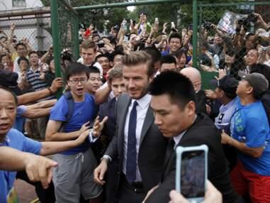 David Beckham crée une émeute en Chine