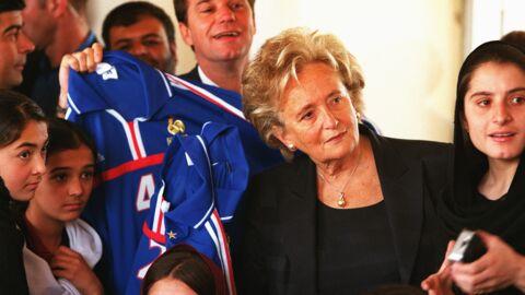 Bernadette Chirac: «Mon mari m'interdisait d'aller dans les vestiaires»