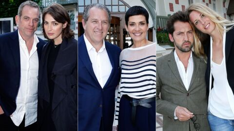 PHOTOS Garou, Cristina Cordula… Tous en couple pour la réouverture d'un hôtel mythique