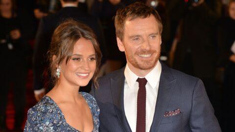 Michael Fassbender et Alicia Vikander: le couple s'installe à Londres