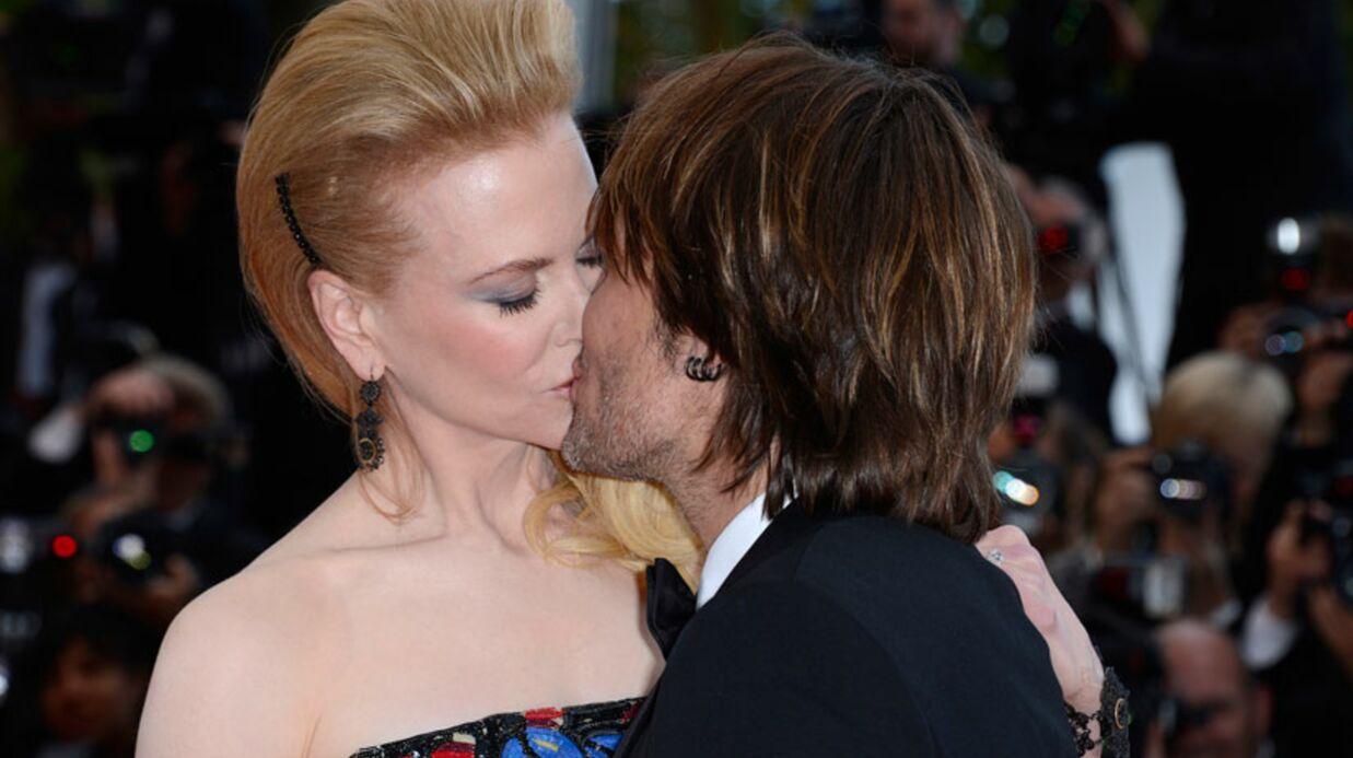 DIAPO Cannes: le baiser langoureux de Nicole Kidman sur le tapis rouge