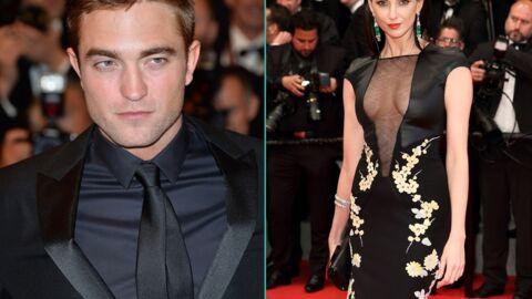 PHOTOS Cannes: Frédérique Bel sort le décolleté très sexy pour Robert Pattinson