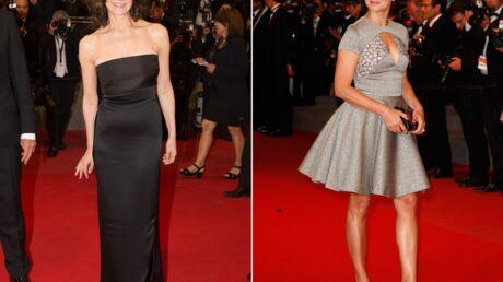PHOTOS Cannes 2015: Virginie Efira et Valérie Lemercier chics et glamour sur les marches