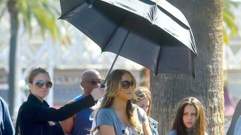 PHOTOS Mariah Carey: sa sortie à Disneyland avec un staff aux petits soins