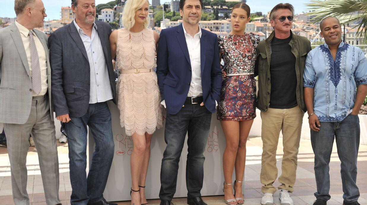 PHOTOS Cannes 2016: les retrouvailles glaciales des ex Charlize Theron et Sean Penn pour leur film
