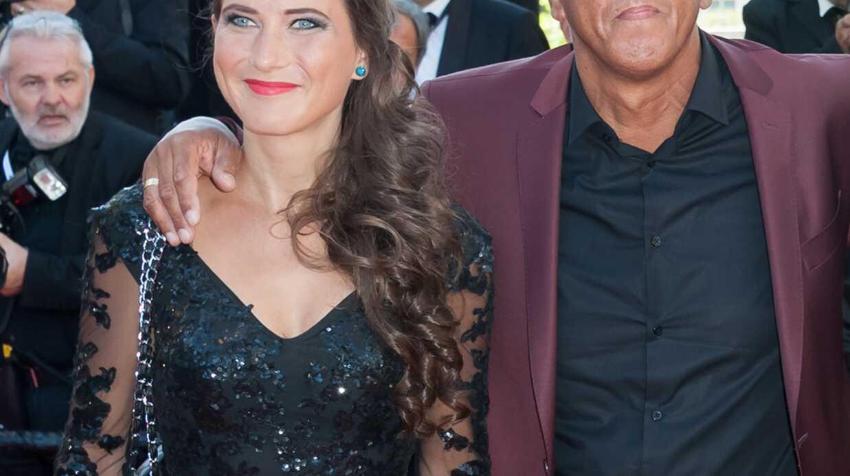 Samy Naceri et sa compagne Marie au Festival de Cannes 2016