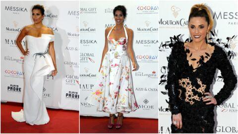 PHOTOS Global Gift Gala à Cannes: Eva Longoria sublime, Laurie Cholewa et Capucine Anav affichent leur décolleté plongeant