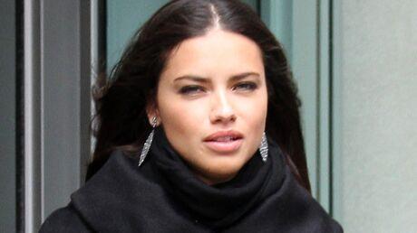 Adriana Lima, top de Victoria's Secret, enceinte