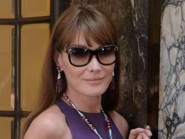 Carla Bruni redevient mannequin pour Bulgari