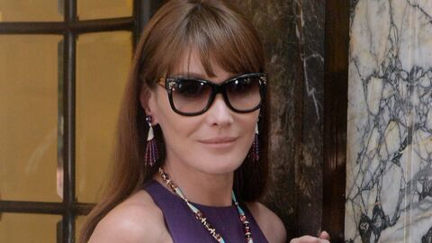 DIAPO Carla Bruni redevient mannequin