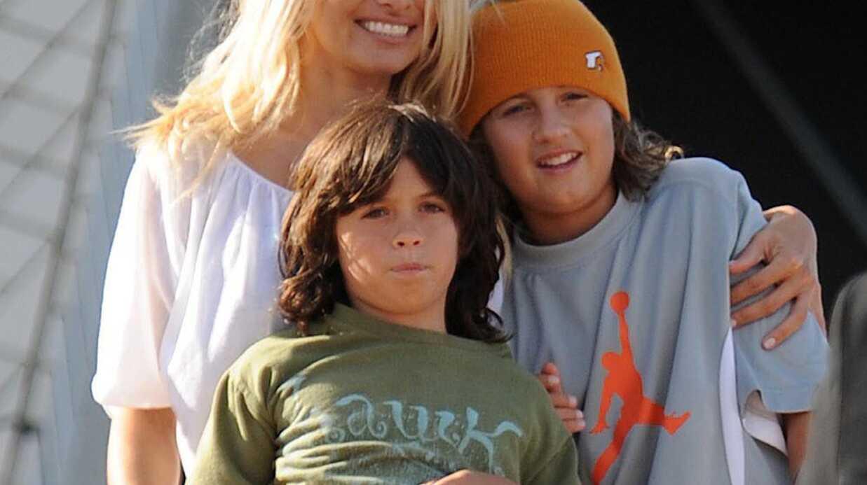 Pamela Anderson ne sait pas si ses fils sont tombés sur sa sextape