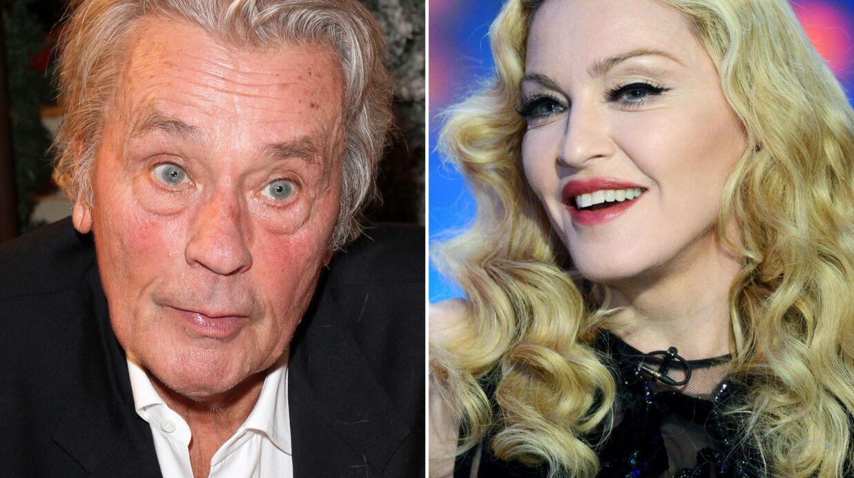 Madonna craque complètement pour… Alain Delon!