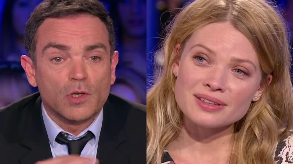 VIDEO Mélanie Thierry très énervée par les questions de Yann Moix sur son couple