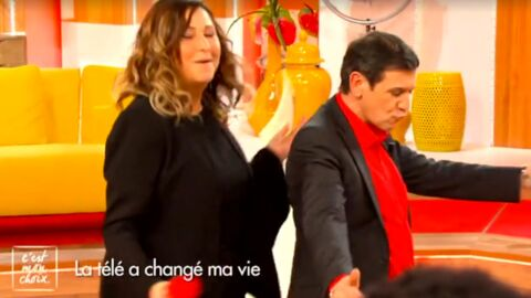 VIDEO Christian Quesada : le champion des 12 Coups de midi se déhanche avec Evelyne Thomas, c'est surprenant