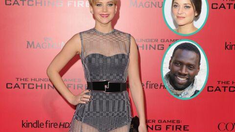 Jennifer Lawrence fan d'Omar Sy et de Marion Cotillard
