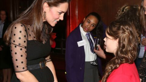 PHOTOS Kate Middleton, rayonnante, affiche un joli baby bump