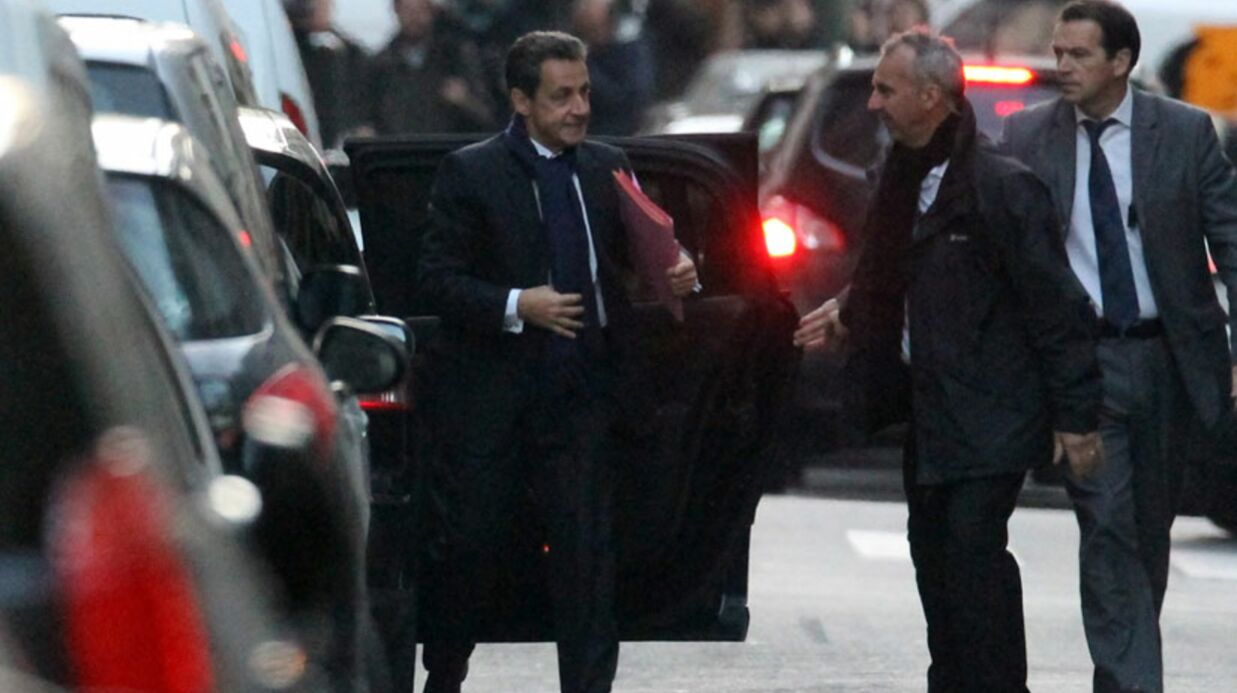 VIDEO Nicolas Sarkozy: sa fille est «un très grand bonheur»