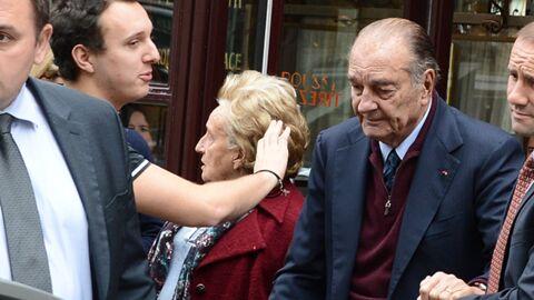DIAPO Jacques Chirac: sortie en famille dans une brasserie parisienne