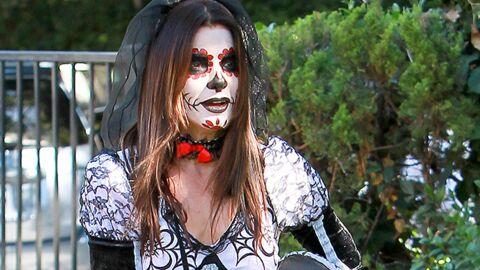 DIAPO Sandra Bullock méconnaissable pour fêter Halloween avec son fils