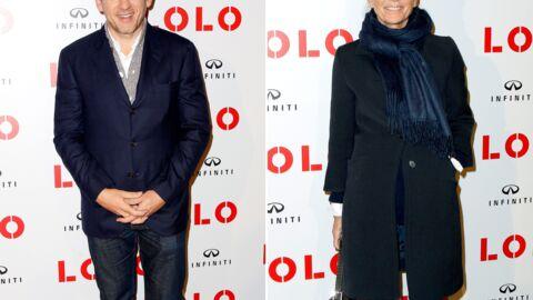 PHOTOS Claire Chazal radieuse pour soutenir Dany Boon à l'avant-première du film Lolo