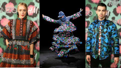 PHOTOS Soko, Elizabeth Olsen, Iman… au défilé  Kenzo x H&M à New York