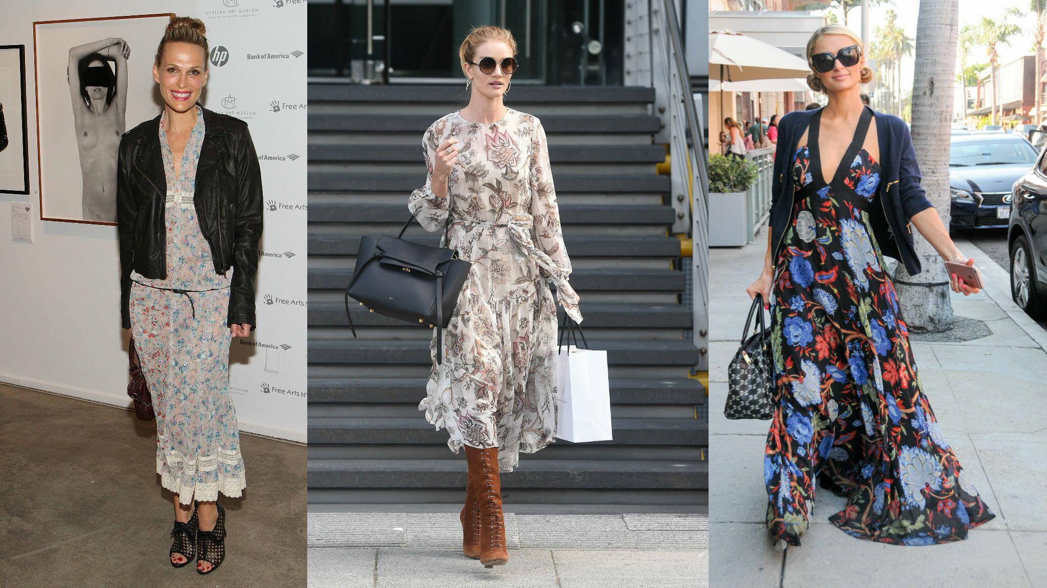 a8bc63b5042 Shopping mode   notre sélection de robes longues fluides pour l automne -  Voici