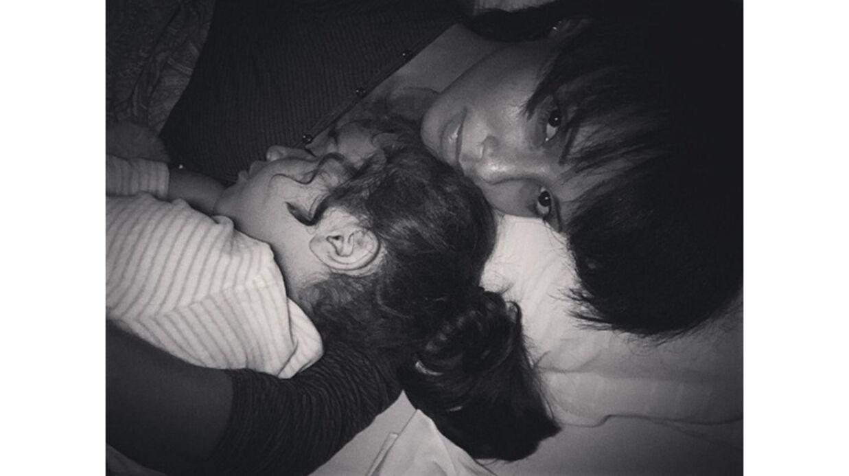 PHOTO Sonia Rolland: moment de tendresse avec sa fille Kahina