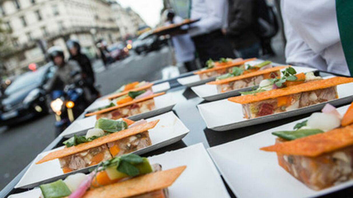 Thierry Marx (Top Chef) transforme une rue de Paris en resto à ciel ouvert