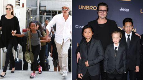 Angelina Jolie et Brad Pitt se séparent: 6 enfants au cœur du divorce