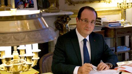 François Hollande explique pourquoi il garde dans son bureau une photo avec Valérie Trierweiler